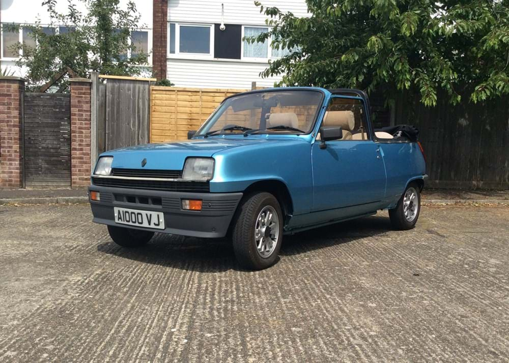 Lot 129 - 1983 Renault 5TX Cleveland Convertible