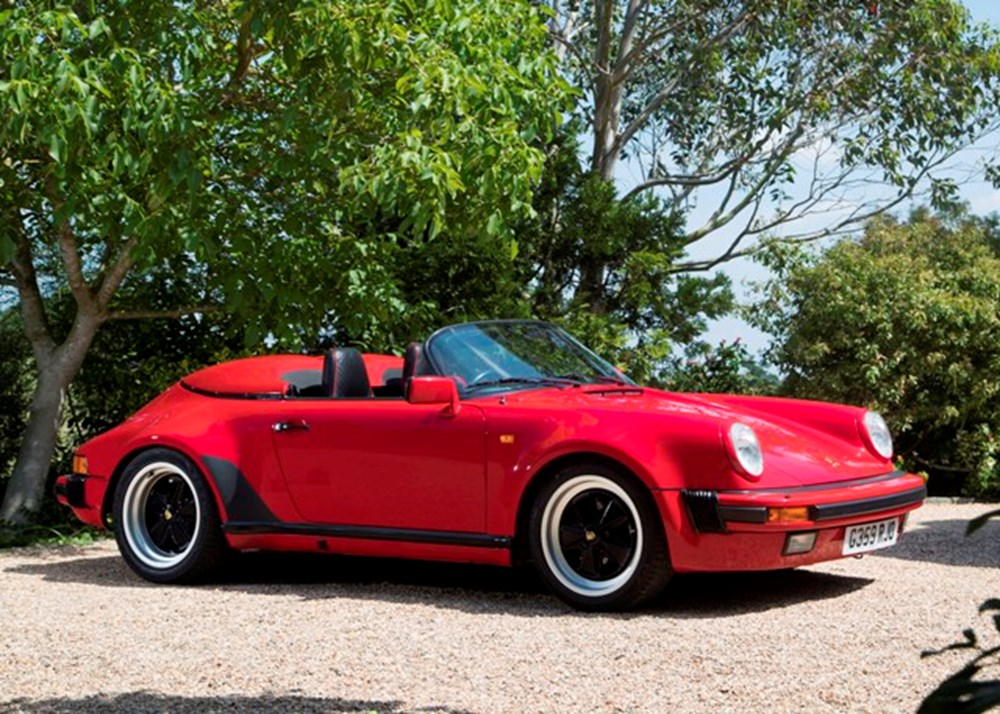 Lot 169 - 1989 Porsche 911 Turbo-body Speedster