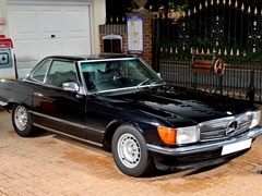 Navigate to Lot 234 - 1986 Mercedes-Benz SL500 Roadster