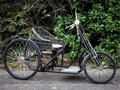 REF 10 1923 Le Monet-Goyon Tricycle Model D