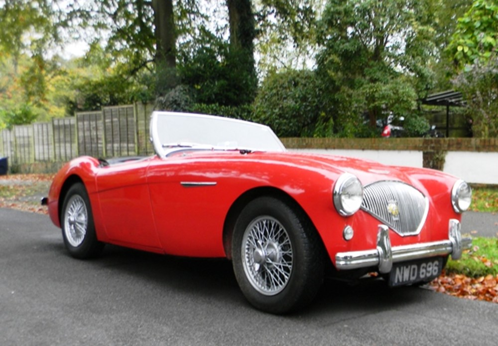 Lot 212 - 1953 Austin-Healey BN1 (upgraded to M-Specification)