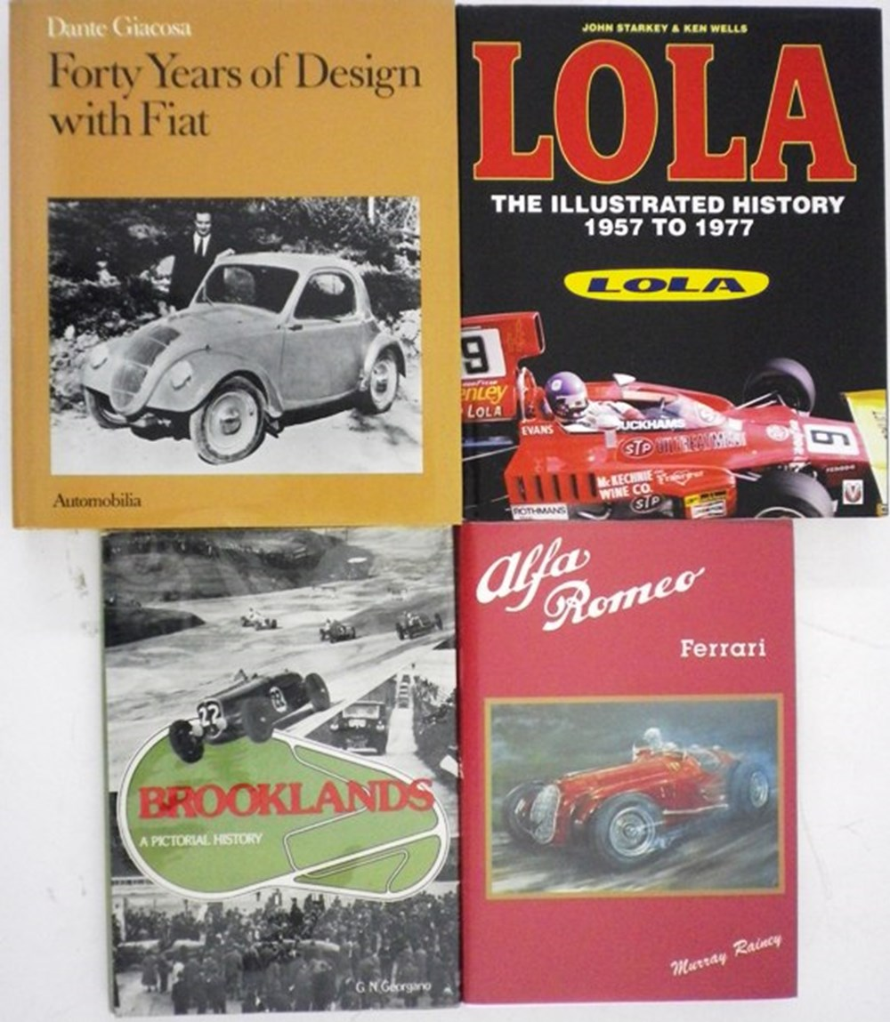 Lot 20 - Seven motoring books.