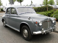 Navigate to Lot 390 - 1963 Rover P4 110