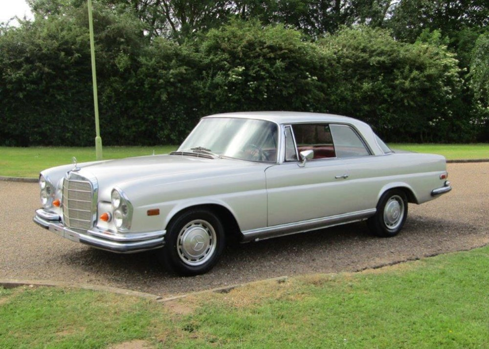 Lot 217 - 1968 Mercedes-Benz 280 SE Coupé