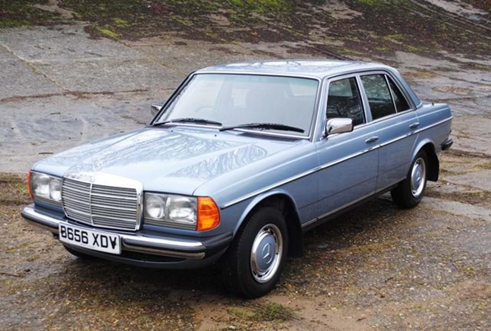 1985 mercedes benz 230e classic sports car auctioneers for Mercedes benz 230e