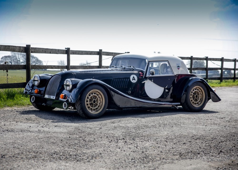 Lot 173 - 1977 Morgan Plus 8 FIA Race Car