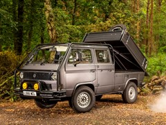 Navigate to Lot 314 - 1992 Volkswagen Transporter Double-Cab 4x4 'Syncro '
