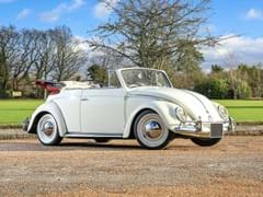 Navigate to Lot 176 - 1958 Volkswagen Beetle Cabriolet by Karmann