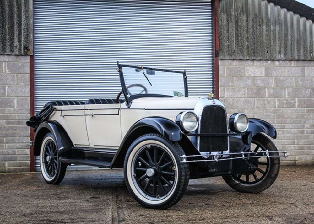 Lot 126 - 1927 Overland Whippet 96 Touring