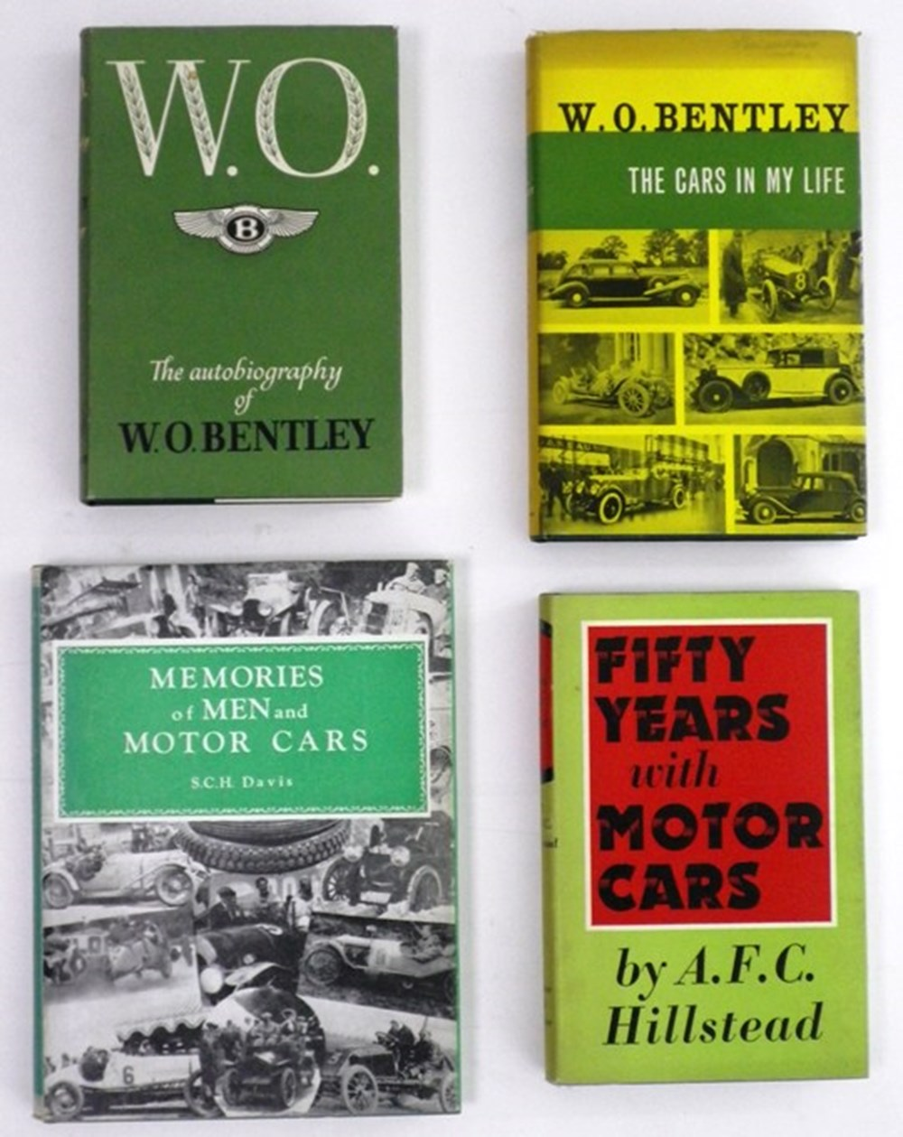 Lot 090 - Early motoring related books