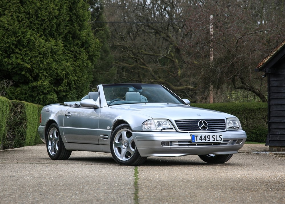 Lot 263 - 1999 Mercedes-Benz SL 320 Roadster