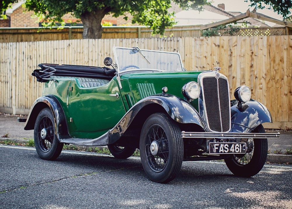 Lot 118 - 1937 Morris Eight Tourer