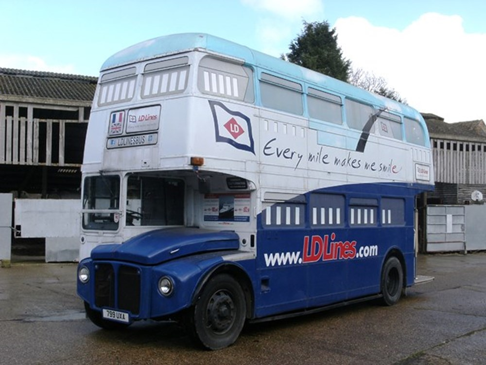 Lot 290 - 1962 12834 Routemaster Double Decker Bus