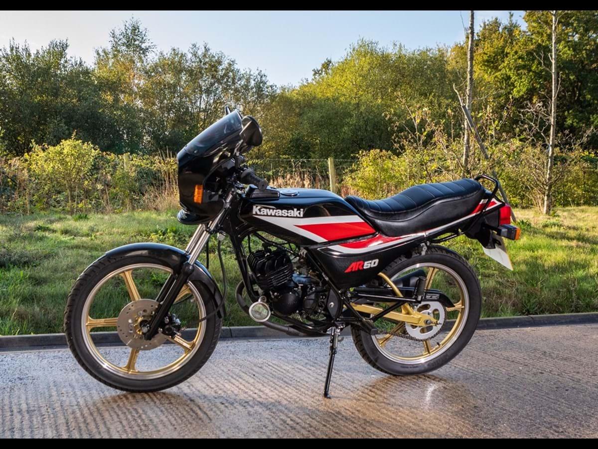 Lot 101 - 1987 Kawasaki AR50