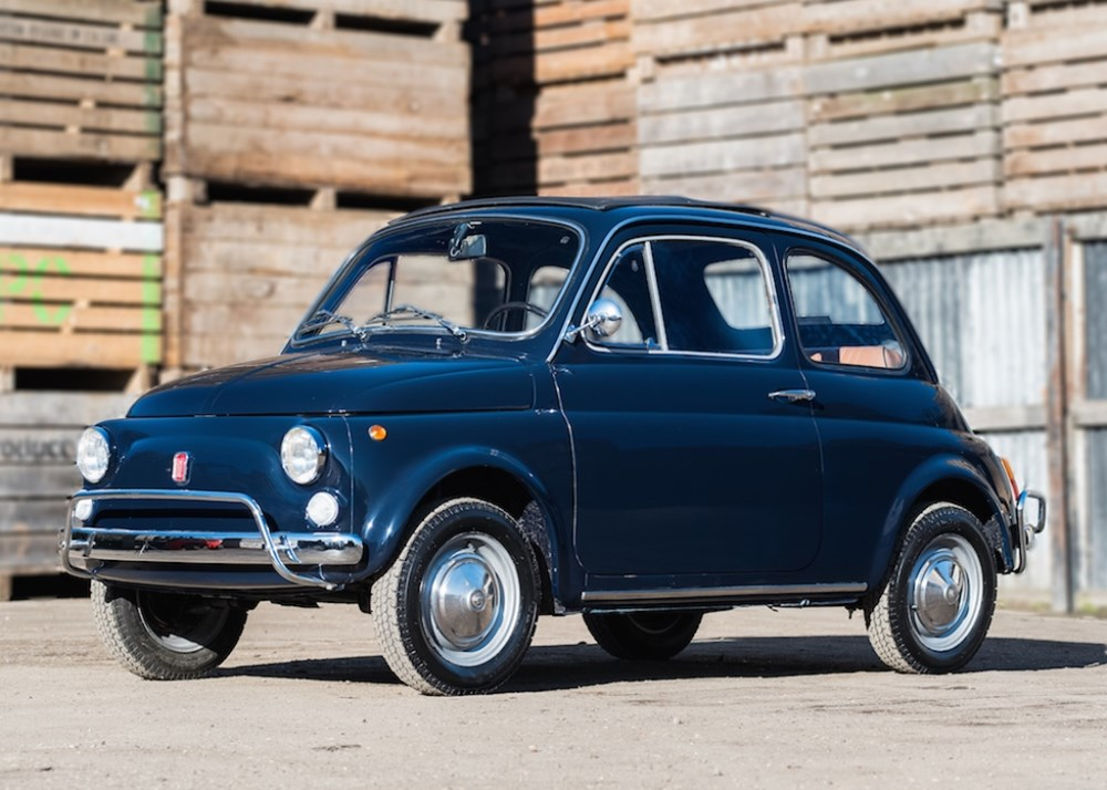 ref 57 1972 fiat 500 lusso classic sports car auctioneers. Black Bedroom Furniture Sets. Home Design Ideas