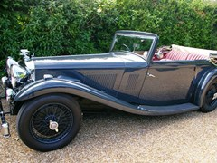 Navigate to Lot 236 - 1934 12840 1934 Alvis Speed 20 SB Vanden Plas Drop Head Coupé