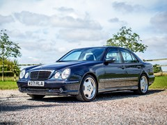 Navigate to Lot 117 - 2000 Mercedes-Benz E55 AMG