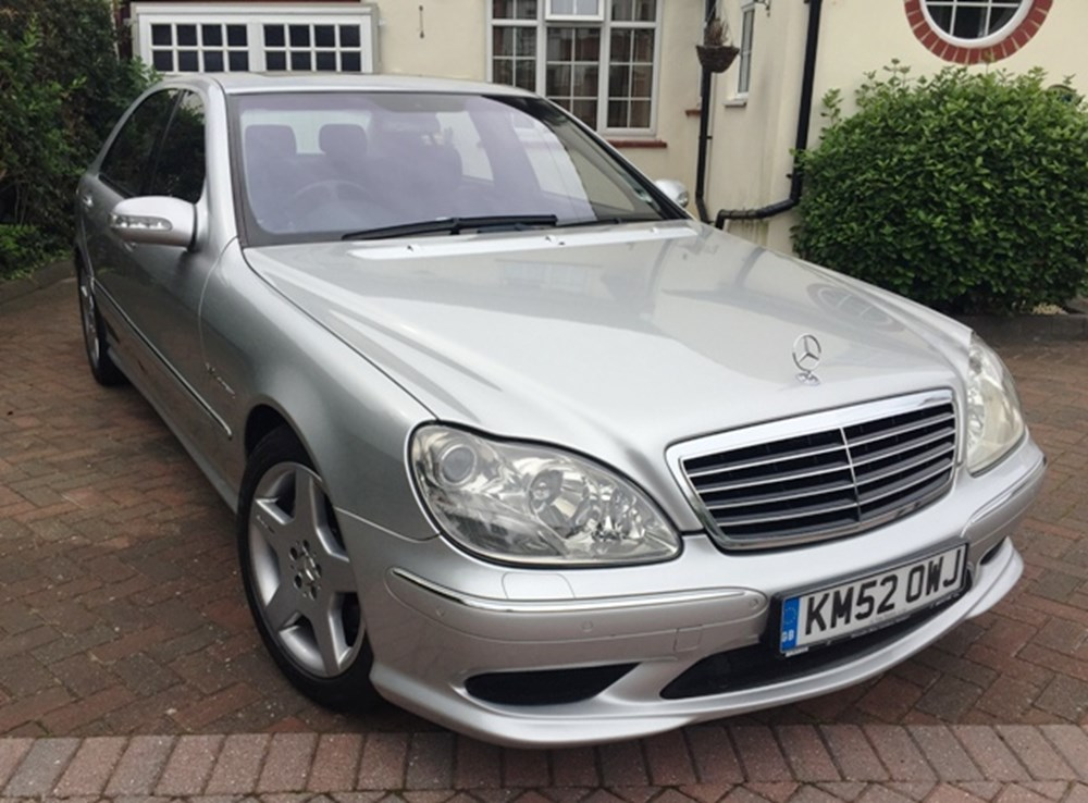 Lot 206 - 2002 Mercedes-Benz S55 AMG Kompressor (long wheelbase)