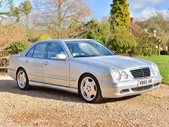 Navigate to Lot 208 - 2000 Mercedes-Benz E55 AMG