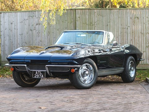 Ref 114 1963 Chevrolet Corvette C2 Convertible