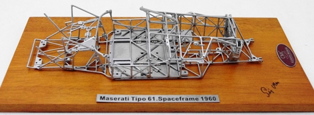 Lot 113 - Maserati Tipo 61 Space Frame Model