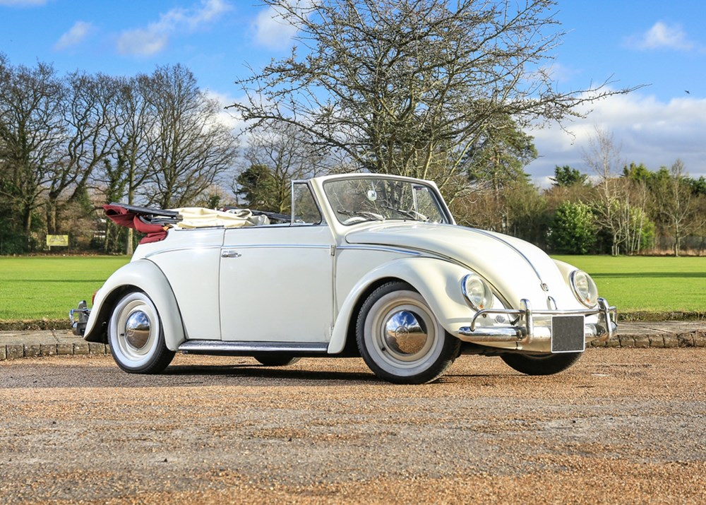 Lot 236 - 1958 Volkswagen Beetle Cabriolet by Karmann