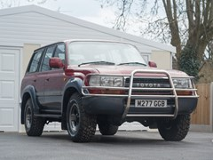 Navigate to Lot 228 - 1995 Toyota Land Cruiser 80 Series VX