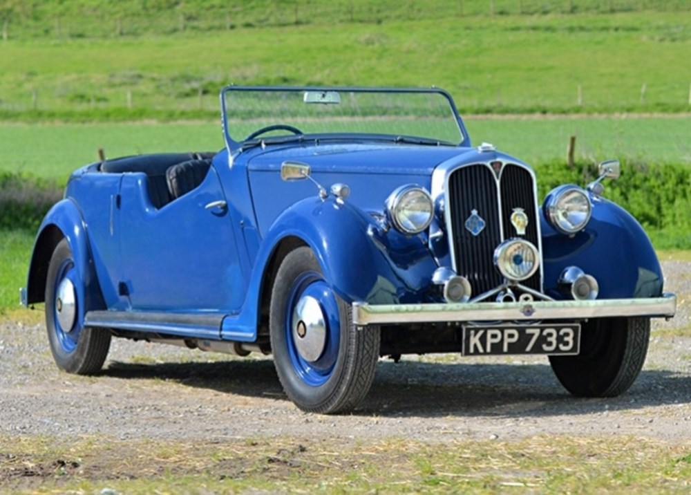 Lot 180 - 1947 Rover P2 Sports Tourer