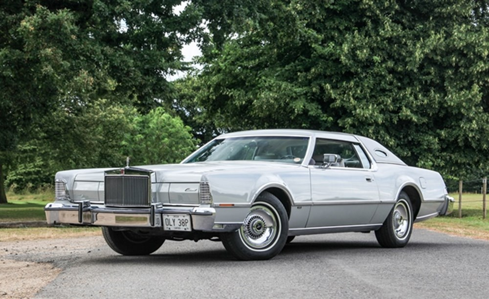 Lot 244 - 1976 Lincoln Continental Mk. IV 'Cartier Edition'