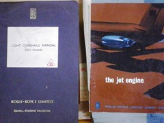 Navigate to Rolls-Royce aircraft manuals