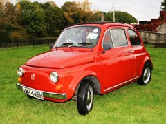 Navigate to Lot 212 - 1969 Fiat 500L