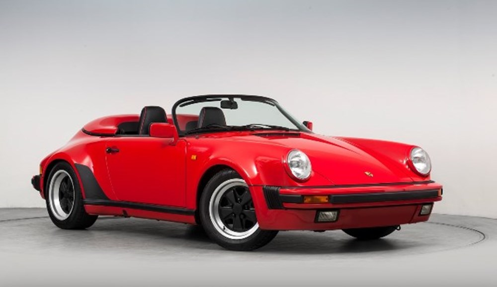 Lot 311 - 1989 Porsche 911 Turbo-body Speedster