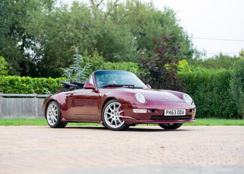 Lot 220 - 1996 Porsche 911/993 Carrera 4 Cabriolet