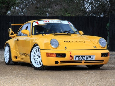 Ref 58 1989 Carrera Sport to 964 Turbo Spec