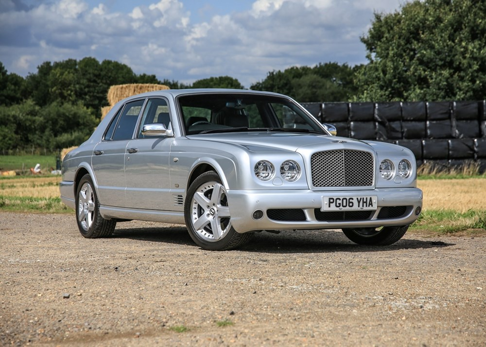 Lot 233 - 2006 Bentley Arnage T Mulliner II