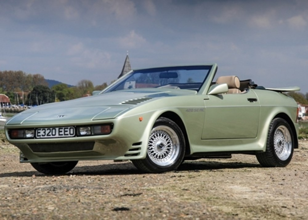 Ref 90 1987 Tvr 420 Seac Classic Amp Sports Car Auctioneers