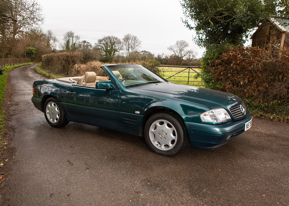 Lot 201 - 1996 Mercedes-Benz SL 500 Roadster
