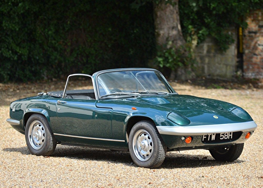 Lot 166 - 1969 Lotus Elan S4 Drophead Coupé