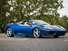 Navigate to Lot 272 - 2001 Ferrari 360 Spider