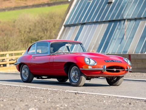 Ref 77 1966 Jaguar E-Type Series I Fixedhead 2+2 Coupé (4.2 litre)