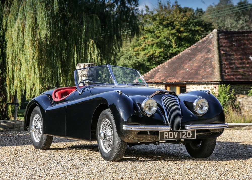 Lot 298 - 1950 Jaguar XK120 Roadster