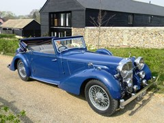 Navigate to Lot 347 - 1938 Alvis Speed 25 TSC three position DHC by Charlesworth