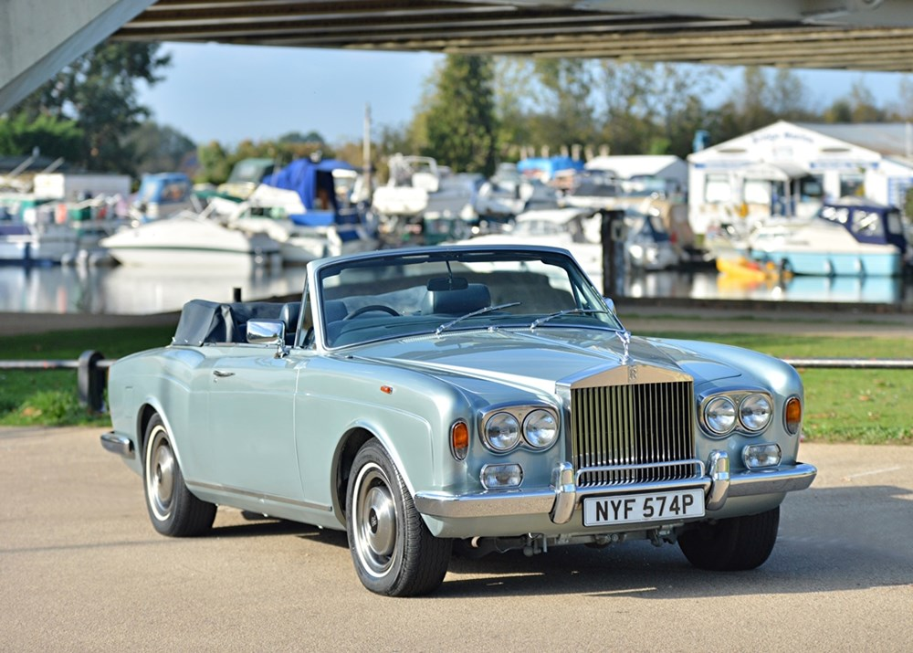 Lot 229 - 1976 Rolls-Royce Corniche 1A Convertible