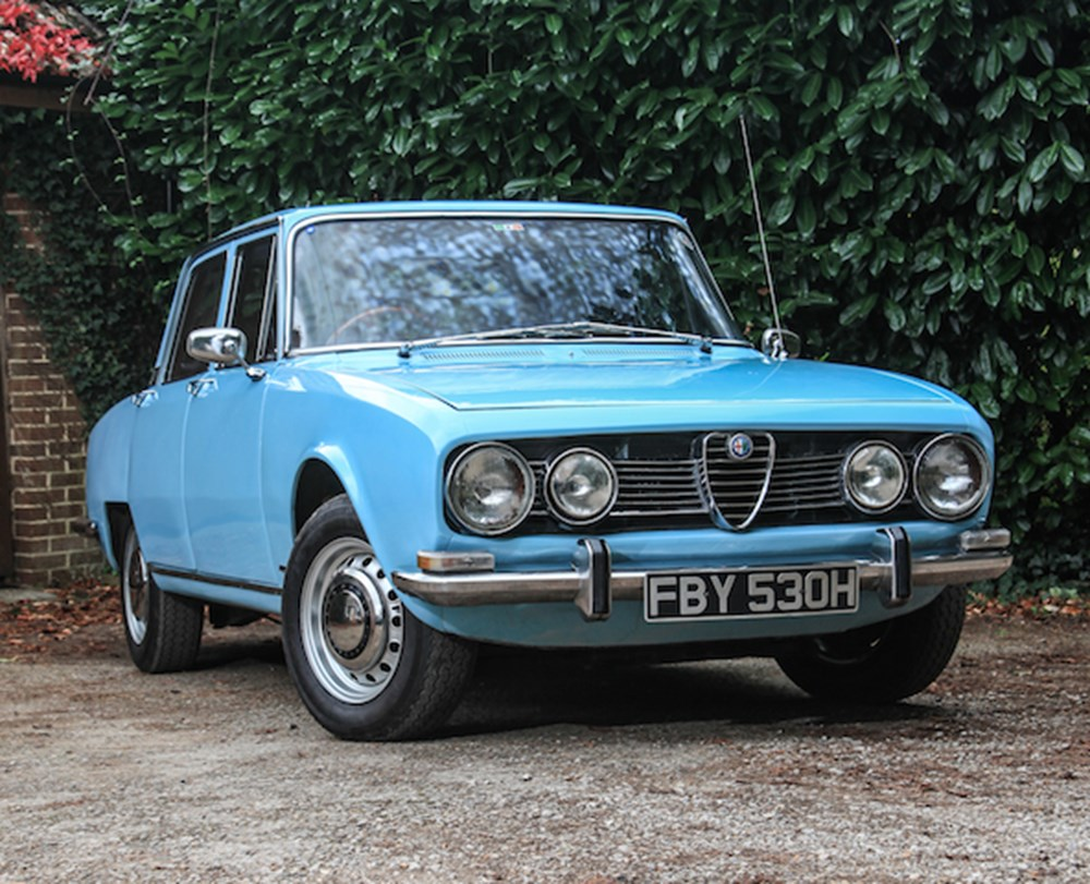 Lot 104 - 1969 Alfa Romeo 1750 Berlina