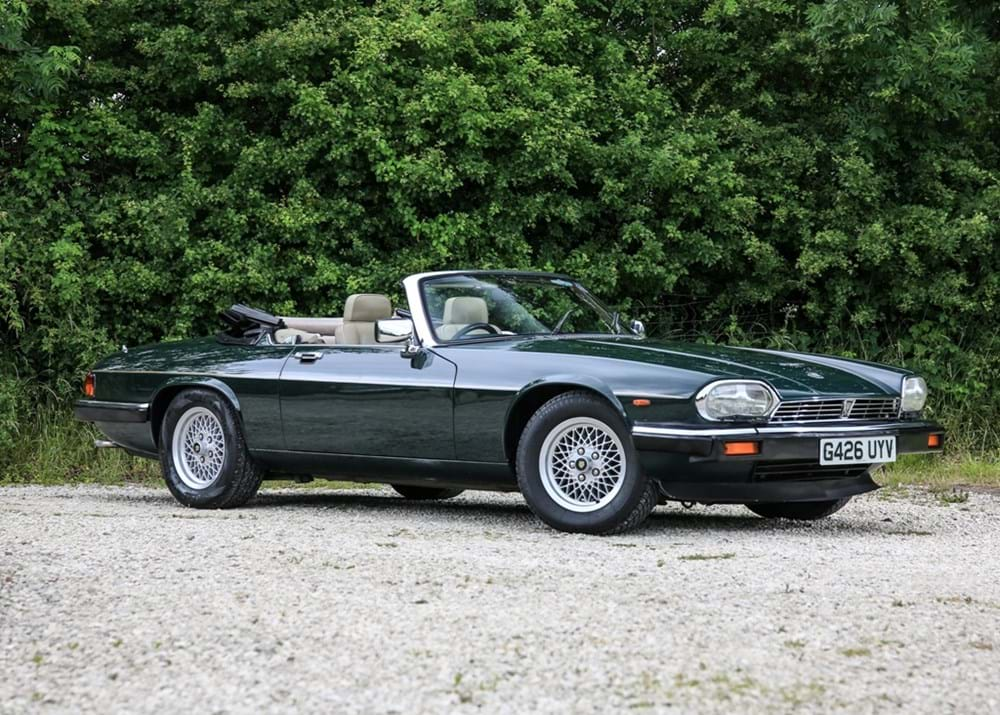 Lot 269 - 1989 Jaguar XJS Convertible (5.3 Litre)