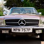 Ref 104 1976 Mercedes-Benz 350 SL Roadster -