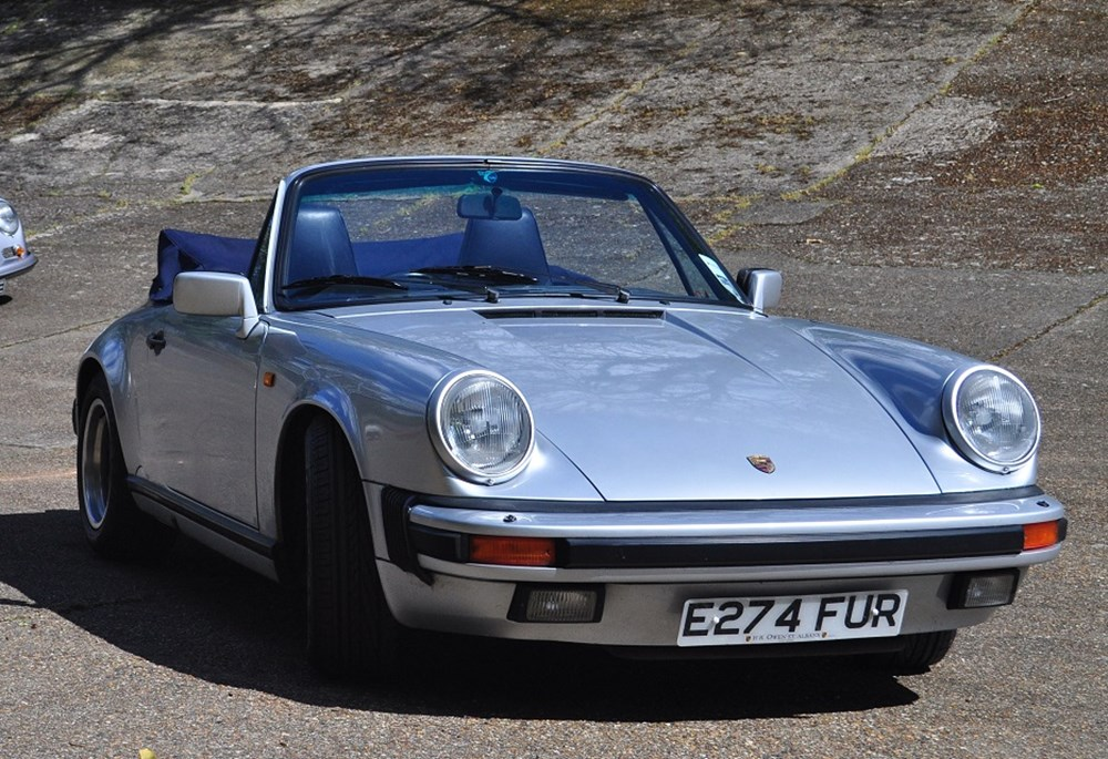 Lot 155 - 1987 Porsche 911 Carrera Cabriolet