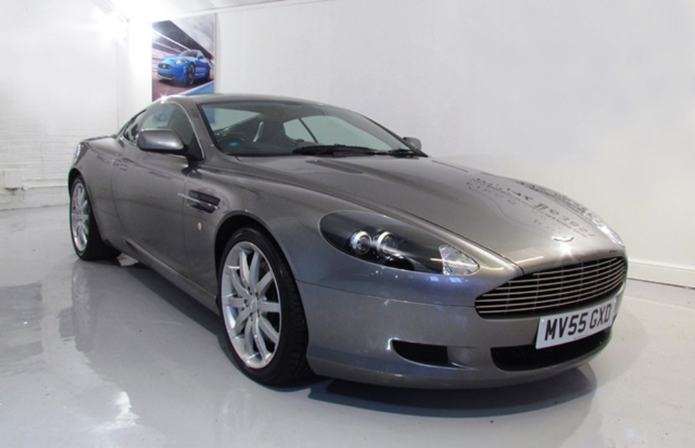 Lot 211 - 2005 Aston Martin DB9