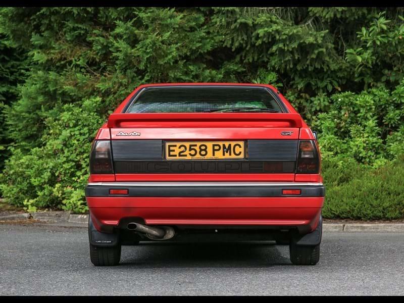 Ref 31 1988 Audi Quattro Coupe