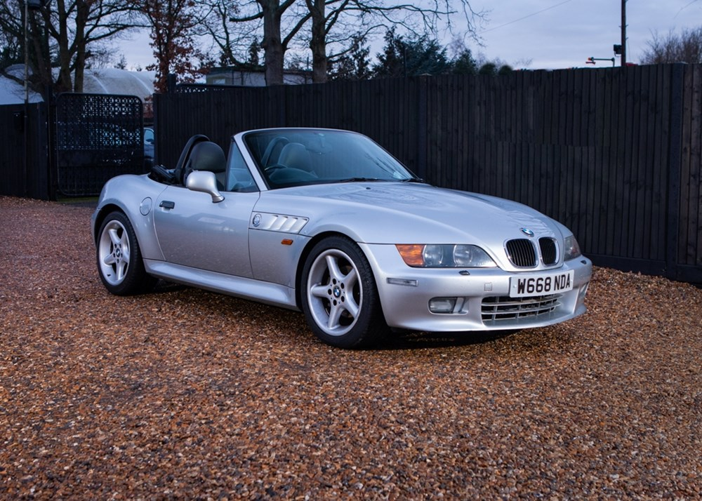 Lot 150 - 2000 BMW Z3 Convertible (2.8 litre)